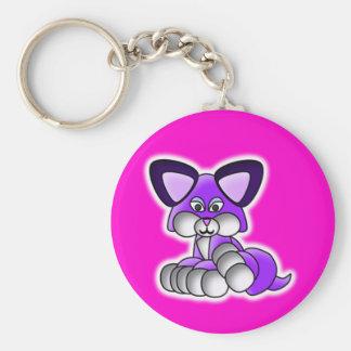 Super Cute Kitty Keychain