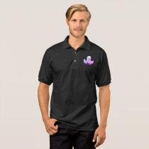 Super cute men's ghost polo shirt