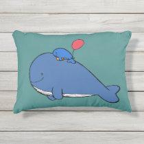 Super Cute Outdoor Whale Pillow