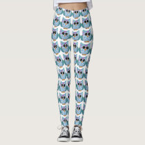Super Cute Owl Leggings