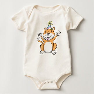 Super Cute Party Cat Baby Infant Creeper