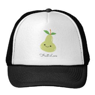 Super-Cute Pear Fruit Love Mesh Hats