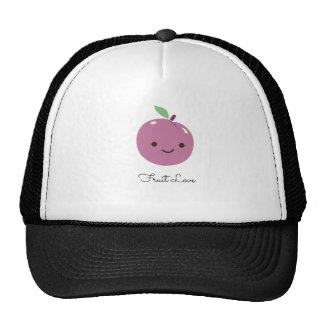 Super-Cute Plum Fruit Love Trucker Hat