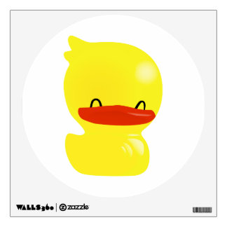 Super Cute Smiling and Cheerful Ducky Wall Decal