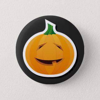 Super cute smiling Halloween Pumpkin button