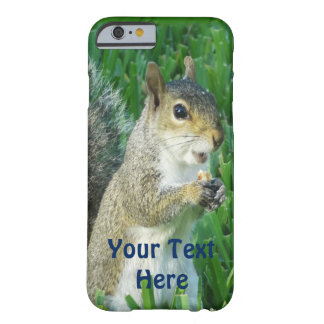 Super Cute Squirrel iPhone Cases with YOUR TEXT