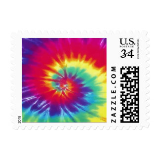 Super Cute Tie Dye Stamps in Many Denominations