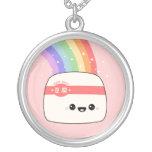 Super Cute Tofu Custom Necklace