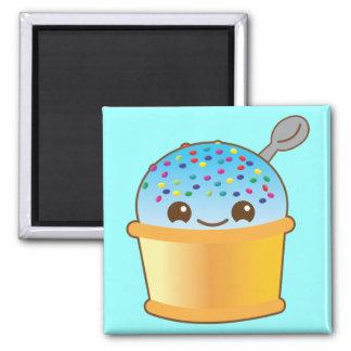 Super cute Yummy Yummy bucket icecream! 2 Inch Square Magnet