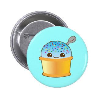 Super cute Yummy Yummy bucket icecream! 2 Inch Round Button