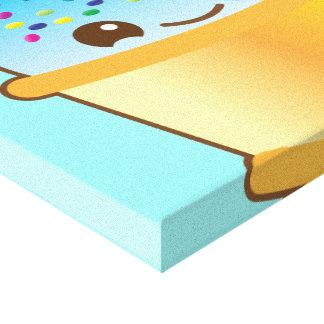 super cute Yummy Yummy bucket icecream! canvas pri
