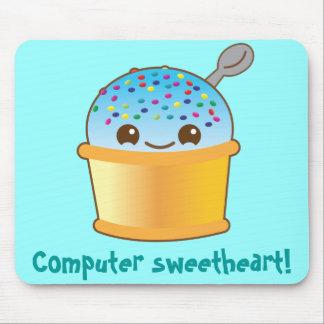 super cute Yummy Yummy bucket icecream! Mouse Pad