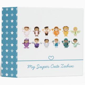Super Cute Zodiac Binders