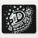 Super Dad 1 Dark Mouse Pads