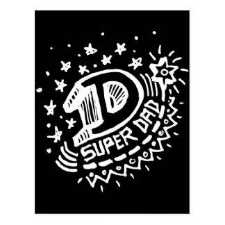 Super Dad 1 Dark Post Cards
