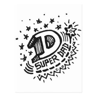 Super Dad 1 Postcard