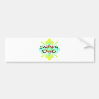 Super Dad Bumper Sticker