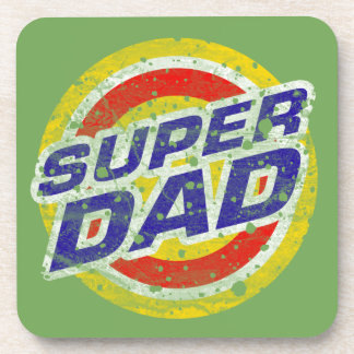 Super Dad Drink Coaster