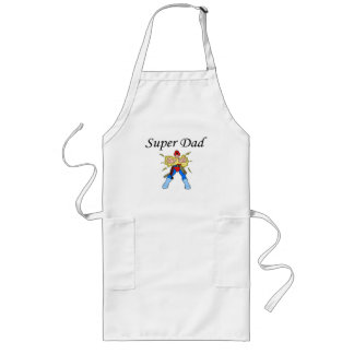 Super Dad (Electric) Long Apron