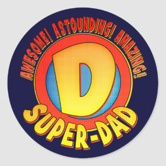 Super Dad Father s Day Stickers