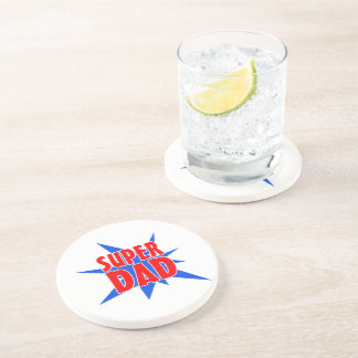 Super Dad Father's Day Drink Coaster