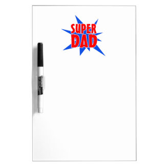 Super Dad Father's Day Dry Erase Board