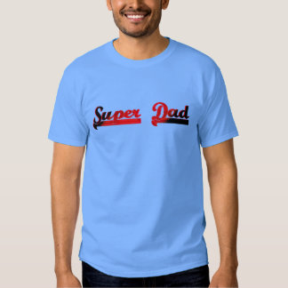 super dad fathers day gift idea top t-shirt design