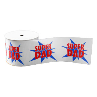 Super Dad Father's  Day Gift Ribbon