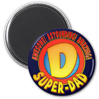 Super Dad Father's Day Magnet