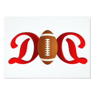 Super Dad Football Card