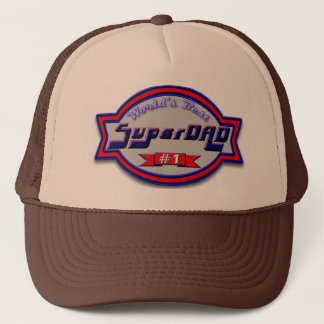 Super Dad Gifts and Super Dad Apparel Trucker Hat