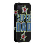 Super Dad iPhone 4 Cover