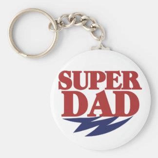 Super Dad Key Chains