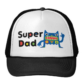 Super Dad Monster Father's Day Hat