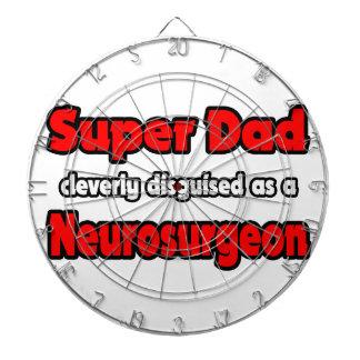 Super Dad ... Neurosurgeon Dartboard With Darts
