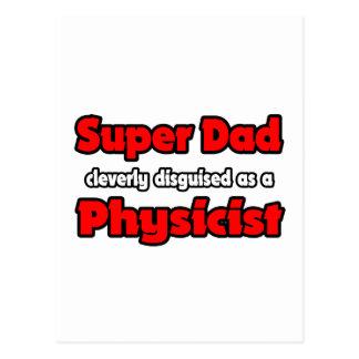 Super Dad ... Physicist Postcard