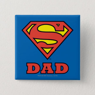 Super Dad Pinback Button