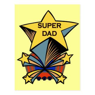 Super Dad Postcard