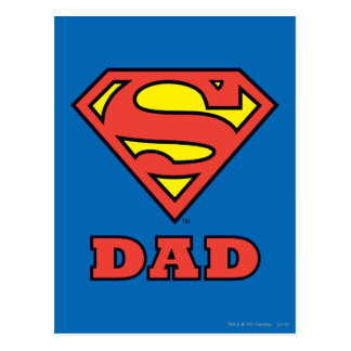 Super Dad Postcard