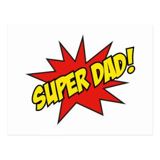Super Dad! Postcard