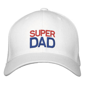 Super Dad - Red White and Blue Hat