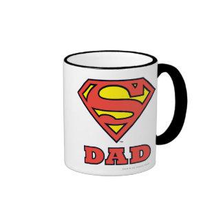Super Dad Ringer Mug