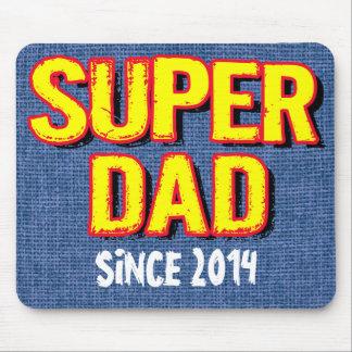 SUPER DAD SINCE 20XX MOUSE PAD