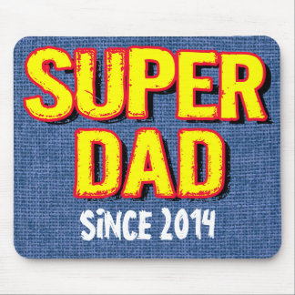 SUPER DAD SINCE 20XX MOUSE PAD
