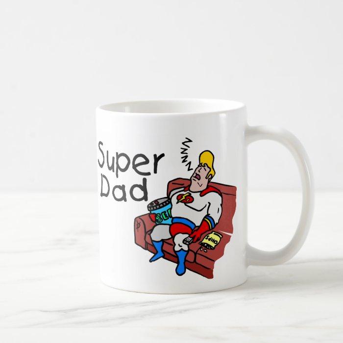 Super Dad (Sleeping) Coffee Mug