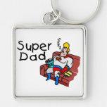 Super Dad (Sleeping) Key Chains
