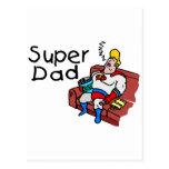 Super Dad (Sleeping) Post Cards