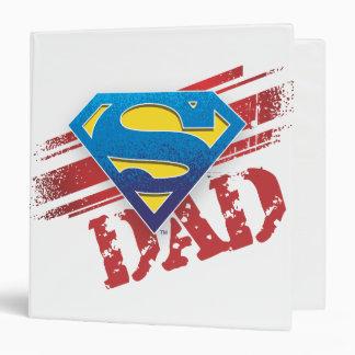 Super Dad Stripes Binder