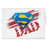Super Dad Stripes Card