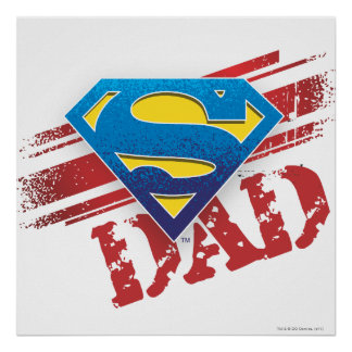 Super Dad Stripes Posters